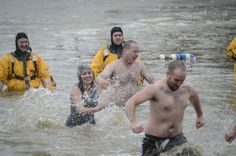 2014 Polar Bear Dip, Cold For The Cure,
