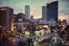 Canal St. in New Orleans #NewOrleans #nola #skyline #pompo  $44.95