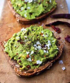 Healthy Seasoned Avocado Toast...