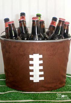DIY Football Drink Tub