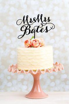 Cute custom cake topper #cake #wedding