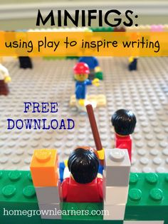 Free LEGO Minifig Writing Prompt Download - Summer Fun