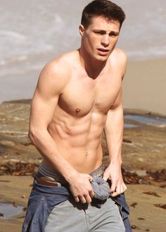 Colton Haynes- If you watch him in Teen Wolf he'd be the perfect Peter... so good at acting like a jerk