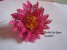Anatımlı İğne Oyası Çiçek Yapılışı | Hobilendik.net