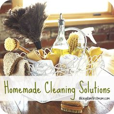 Homemade-Cleaning-Solutions