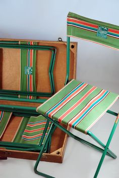 vintage camp chairs