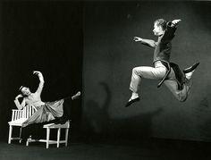 Martha Graham and Merce Cunningham!