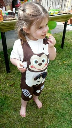 Cute monkey outfit