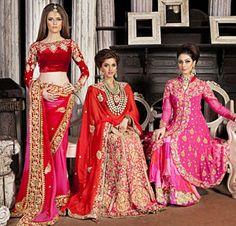Bridal Asia 2013, Indian bridal lehengas, Indian wedding