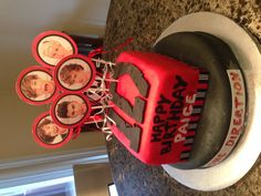 One Direction Cake! It even says my name! LOL!!!!