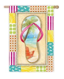 garden flags, hous flag, gardens, flip flops, shore garden, flop shore, beach, evergreen flags, flipflop flag