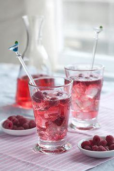 Wonderfully refreshing! #food #cooking #foodphotography #raspberries #drinks #summer #fruit