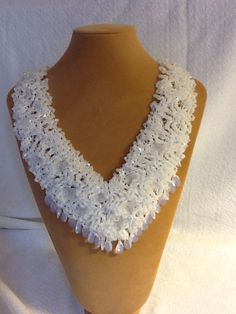 Bridal necklace. $300.00, via Etsy.