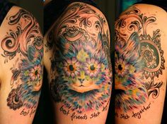 louis wain | tattoo