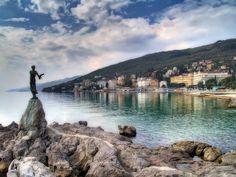 Opatija, Croatia.