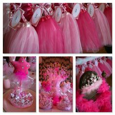 Pink Princess Birthday Party Ideas. Pink Princess Party Favors included in the Pinkalicious Princess Birthday to Go Box from My Princess Party to Go. http://www.myprincesspartytogo.com #pinkprincesspartyideas #pinkalicious #tutu #favors #princessbirthdaypartyideas