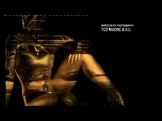 James Bond - Goldfinger opening credits.