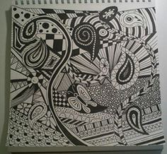 Doodle abstracto