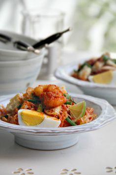 singapore shiok!: mee siam (rice vermicelli in spicy sour gravy)