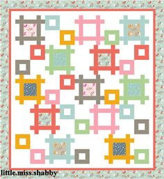 Framework Quilt with link to free pattern