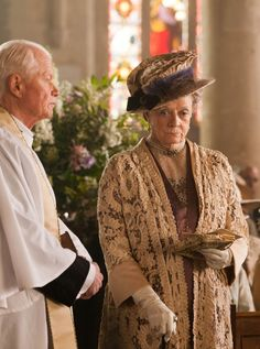 The Dowager Countess tells Lady Edith to just let him go. He's too old for you