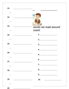 Incorporate reading/spelling into mathematics...great prep for word problems
