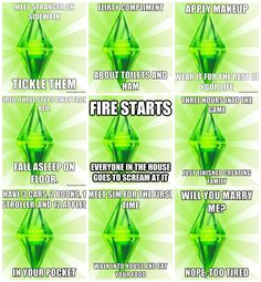 sim logic, the game, real life, the sims humor, hilarious sims, sim stuff, sims stuff, sims 3 humor, true stories