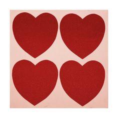 Hearts Print by Andy Warhol at Art.com