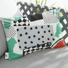 Party Collage Outdoor Pillow