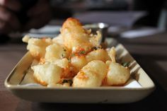 Fried Wisconsin Cheese Curds, Mustard Dipping Sauce at Koral Bar & Kitchen (Bellevue, WA)