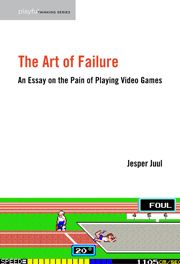 """In The Art of Failure I ask: why do we do it? Why do we play video games even though they make us unhappy? The Art of Failure discusses the many possible explanations of this paradox, and while I propose an answer to the problem, the journey itself is meant to offer a new explanation of what it is that games do. The book combines personal confessions about failure with philosophy, game design analysis, psychology and fiction theory."""