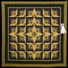 2013 Quilt Expo Quilt Contest, 3rd Place, Category 6, Wall Quilts, Hand Quilted Any Type: Arabian Nights, Vicki Lawson, Dakota, Ill.