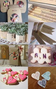 some lovely wedding favour ideas