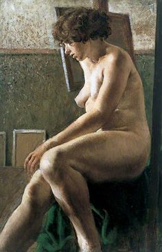 Female Figure Seated  by Rex Whistler  UCL Art Museum        Date painted: 1924
