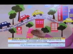 WALLCANDY® WALL DECALS ON THE TODAY SHOW