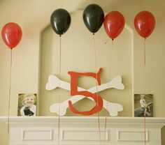 pirate birthday party decorations