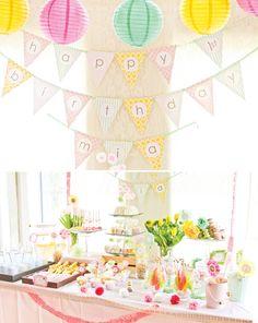 A safari birthday party
