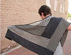 derecho shawl by laura aylor
