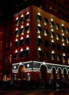 Harry Winston!  Christmas on Fifth Avenue, NYC