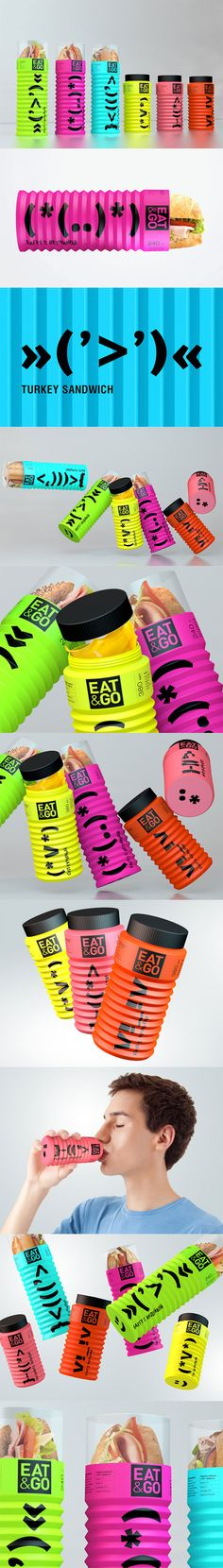 Eat and Go Concept  @Packaging of the World