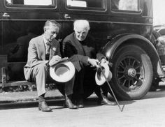 Harvey Firestone & Thomas Edison
