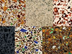 Vetrazzo Recycled Glass Counter Tops