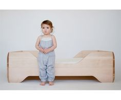 Kalon Studios ECHO Toddler Bed.  Love it!  So expensive, but so perfect.