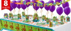 Scooby Doo Party Supplies Super Party Kit - Girls Birthday Party Themes - Girls Birthday - Birthday Party Supplies - Categories - Party City