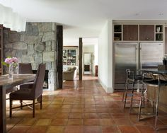 Terra Cotta Kitchen Tile Design, Pictures, Remodel, Decor and Ideas - page 2