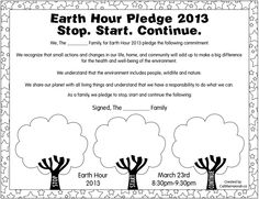 When Children Inspire. Please take a minute to check out 10 year old Hannah Alper's Earth Pledge and please fill out yours while you're at it! 10 year