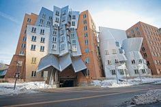 Stata Center on the campus of Massachusetts Institute of Technology in Cambridge.