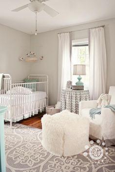 This nursery is elegant!
