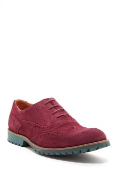 Just 4 A Pop Suede Oxford