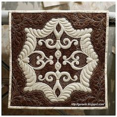 Trapunto quilting--Russian site